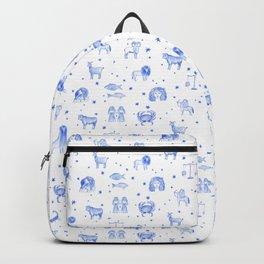 Blue Zodiac Backpack
