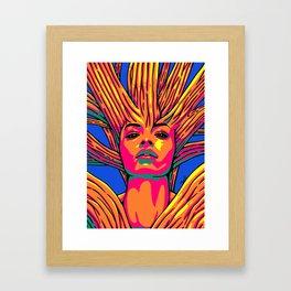 sleeping Forest7 Framed Art Print