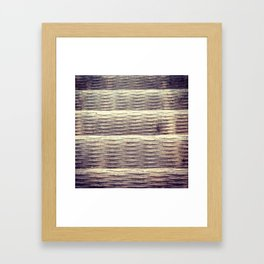 Steel Stair Framed Art Print