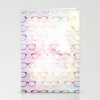 glasses Stationery Cards featuring Glasses by C Designz