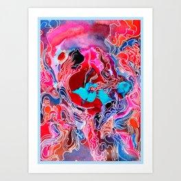 Tiny Cosmic Event Art Print