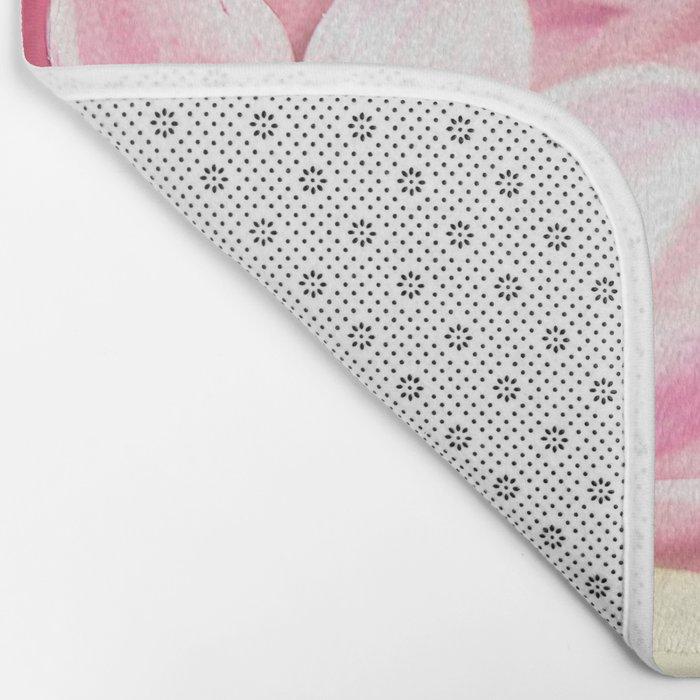 Pink Tones Bath Mat