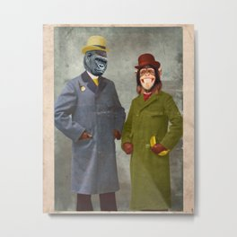 Stan & Jimmy Metal Print