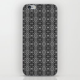 Meshed in Grey iPhone Skin