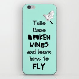 Learn how to fly iPhone Skin