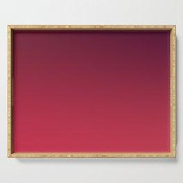 OUTERSPACE - Minimal Plain Soft Mood Color Blend Prints Serving Tray