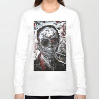 hunter s thompson Long Sleeve T-shirts featuring Hunter S Thompson by Matt Pecson