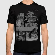 Dragon Spirit Black Mens Fitted Tee LARGE
