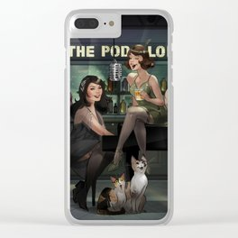 Stay Sexy and Don't Forget to Tip Your Bartender Clear iPhone Case