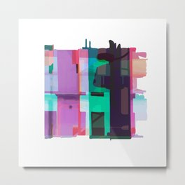 Urban Decay II Metal Print