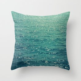 Sea is Always in your Mind Throw Pillow