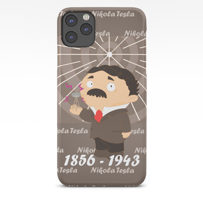 Nikola Tesla Iphone Case By Martasan Society6
