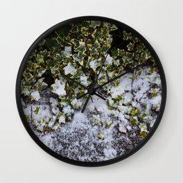 Neve em Londres - 6 Wall Clock