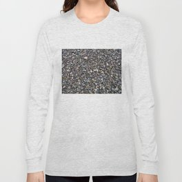 What Stories You Could Tell... Rocks of Jasper Beach Long Sleeve T-shirt