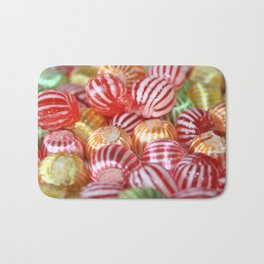 Striped Candy  Bath Mat