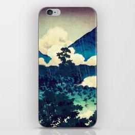 Under the Rain in Doyi iPhone Skin