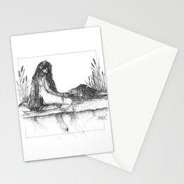 Kelpie sisters Stationery Cards