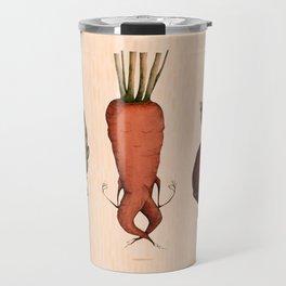 veggie yoga 1 Travel Mug