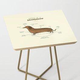 Anatomy of a Dachshund Side Table