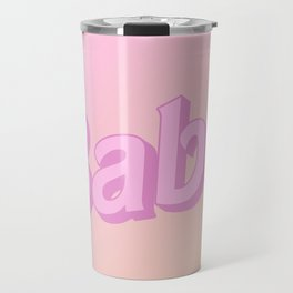 Babe - Doll Look | Pink Ombre Travel Mug
