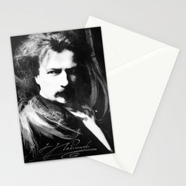 Polish Lion - Ignacy Jan Paderewski Stationery Cards