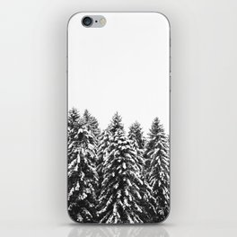 White Snow Forest No1 iPhone Skin