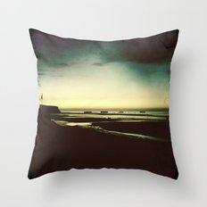 Sun Shadow Throw Pillow