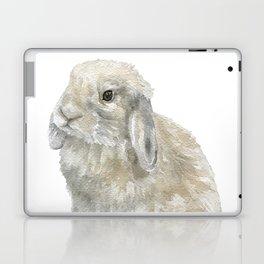 Lop Rabbit Watercolor Painting Bunny Laptop & iPad Skin