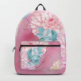 Dahlia Bush #society6 Backpack