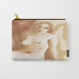 Worried nude Carry-All Pouch