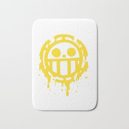 Heart pirates trafalgar law one piece Bath Mat