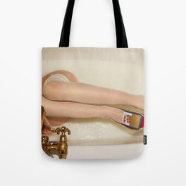 The queen is thirsty. Really, really thirsty Tote Bag