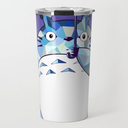 Kawaii Purple Ghibli Travel Mug