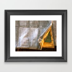 Underneath your clothes Framed Art Print