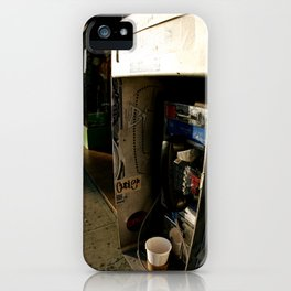 Melrose Phonebooth iPhone Case