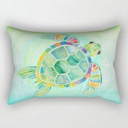Shanti Sparrow: Byron the Turtle Rectangular Pillow