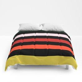 Modern Color Summer Stripes Pattern Comforters