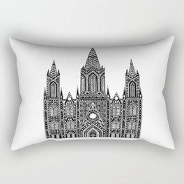 Cathedral (Barcelona) Rectangular Pillow