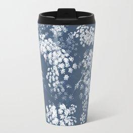 Josephine Blue Travel Mug