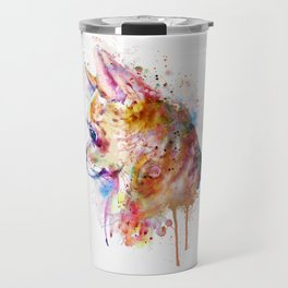 Watercolor Chihuahua Travel Mug
