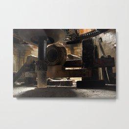 Inner Workings Metal Print