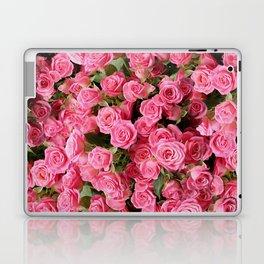 Pink Rose Floral Pattern Laptop & iPad Skin