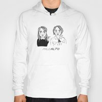 cactei Hoodies featuring Palo Alto by ☿ cactei ☿