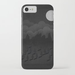 A night in the woods iPhone Case