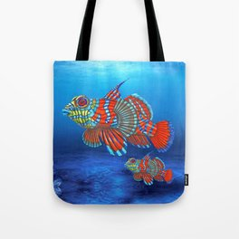 Mandy, the Mandarin Fish Tote Bag