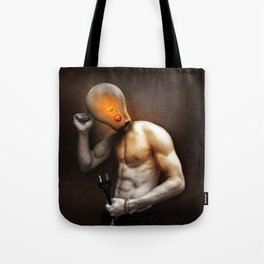 Glow Lamp Tote Bag