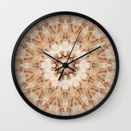 Decorative Marble Mandala Abstract Wall Clock
