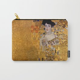 The Woman In Gold Bloch-Bauer I by Gustav Klimt Carry-All Pouch