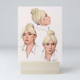 LadyGaga for Variety Mini Art Print