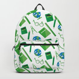 Colorful school pattern Backpack